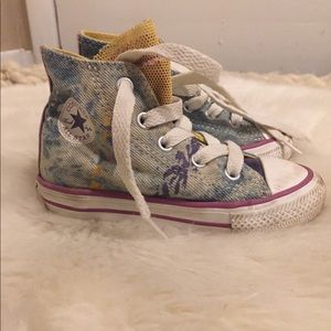 Converse | Toddler Hightop Paint Splatter Converse
